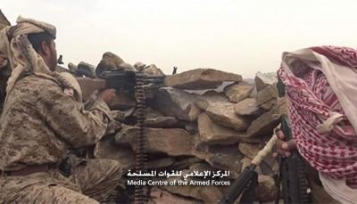 """صعدة: الجيش يسيطر على جبل """"الحمراء"""" المطل على منطقة الرزامي"""