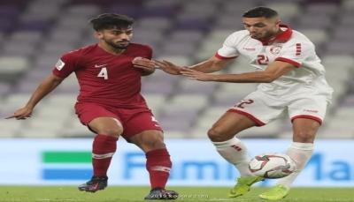 قطر تهزم لبنان بهدفين في مباراة مثيرة