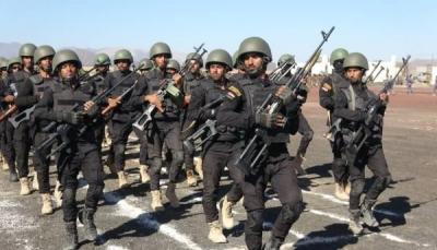 في عرض عسكري كبير.. قوات الأمن الخاصة تدشن العام التدريبي الجديد بمأرب