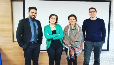 """الماجستير في العلاقات الدولية للباحث """"هشام الزيادي"""" من جامعة اسطنبول"""