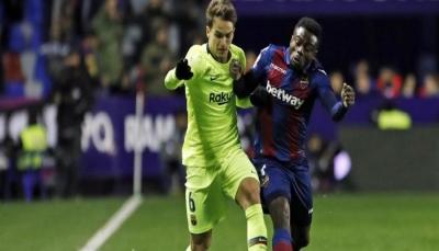 مشاركة لاعب برشلونة 23 دقيقة تكلّف مليون دولار