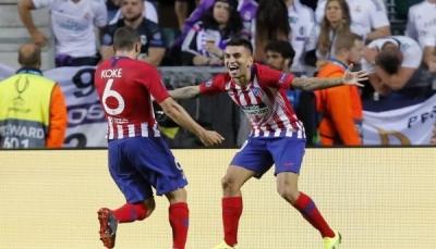أتليتيكو مدريد يواصل الضغط على برشلونة في الليجا