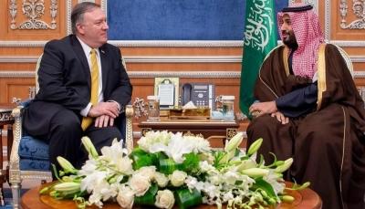 وزير الخارجية الأمريكي يتفق مع ولى العهد السعودي على خفض التصعيد في اليمن