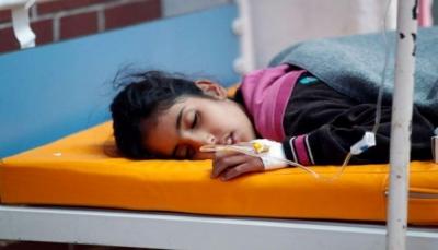 اليونيسف: 110 آلاف اشتباه بالكوليرا في اليمن خلال 16 شهر