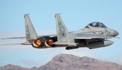 """التحالف يستهدف تعزيزات للحوثيين في """"جبهة نهم"""" ويدمر آليات عسكرية"""