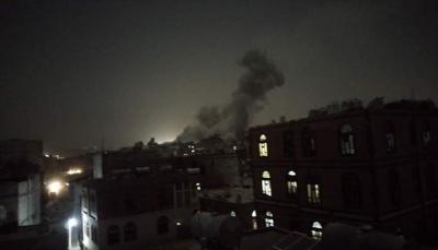 """التحالف يقول إنه دمر موقعا لتخزين """"طائرات مُسيرة"""" تابع للحوثيين في صنعاء"""