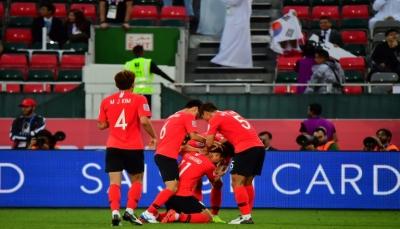 كوريا الجنوبية تهزم البحرين وتبلغ ربع النهائي