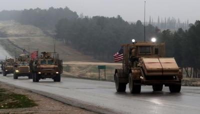 الولايات المتحدة ترسل تعزيزات عسكرية إلى سورية لتأمين انسحاب قواتها