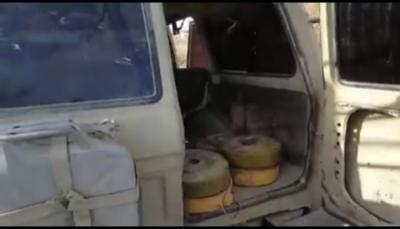 البيضاء: المقاومة تضبط خلية تمد ميلشيات الحوثي بمختلف الأسلحة والذخائر (صور)