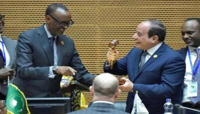 مصر تتسلم رئاسة الاتحاد الإفريقي من رواندا في قمة أديس أبابا