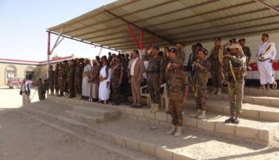 الجوف: قوات الأمن تقيم عرضا عسكريا مهيبا احتفاء بالذكري الثامنة لثورة فبراير