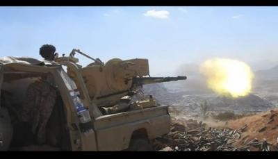 """الضالع: مقتل وأسر 10 من ميلشيات الحوثي خلال معارك في """"مديرية الحشاء"""""""