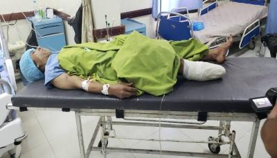 إصابة امرأة بانفجار لغم أرضي جنوبي تعز