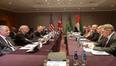 """الرباعية الدولية تتفق بأن """"هناك فرصة للسلام في اليمن"""" وتحمل الحوثيين مسؤولية سلامة البعثة الأممية"""