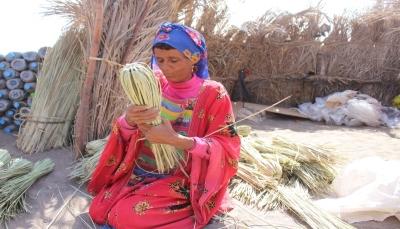 صناعة الحصير حرفة وتراث صامد رغم الحرب في اليمن