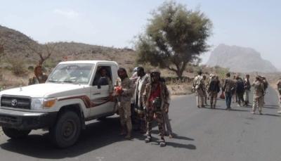 الجيش والمقاومة يسيطران على مواقع جديدة في الحشاء بالضالع