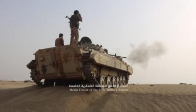 """حجة: قوات الجيش تحرر عدد من المواقع الإستراتيجية غرب مدينة """"حرض"""""""