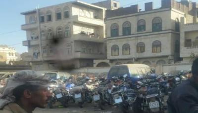 صنعاء: سائقو الدرجات النارية يعانون من ابتزاز المليشيات الحوثية