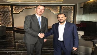 وزير الخارجية البريطاني يشدد على ضرورة انسحاب الحوثيين من موانئ الحديدة قريباً