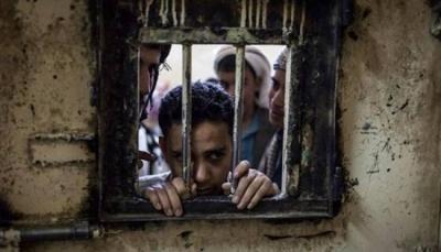 مختطفون في سجن الثورة التابع للحوثيين بصنعاء يبدأون اضرابا عن الطعام