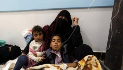 تعز: وفاة ثمانية أشخاص بوباء الكوليرا ورصد 3600 حالة إصابة منذ بداية العام