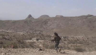 الضالع: الجيش والمقاومة يصدان هجوما للحوثيين بمديرية الحشاء