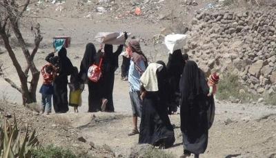 الأمم المتحدة: الحرب المستمرة في اليمن تسببت بنزوح 350 ألف منذ بداية العام الجاري