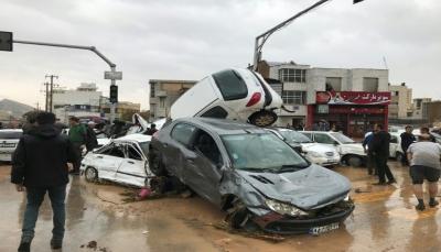 مقتل 18 شخصا على الأقل وإصابة 68 آخرون جراء سيول عارمة اجتاحت إيران