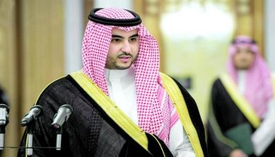 """خلال لقائه """"غريفيث"""".. خالد بن سلمان:المملكة حريصة على التوصل لحل سياسي لأزمة اليمن"""