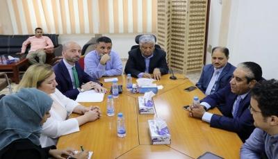 الاتحاد الأوروبي يعلن استعداده مساعدة البنك المركزي اليمني في تطوير بُنيته المؤسسية