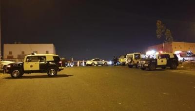 """إصابة خمسة سعوديين.. التحالف يعترض طائرتين مسيرتين للحوثي في """"خميس مشيط"""""""