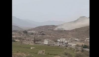 الضالع: مليشيات الحوثي تقصف قرى مريس بالأسلحة الثقيلة