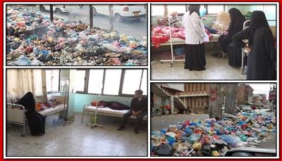 """تكدس """"النفايات"""" وانتشار """"الكوليرا"""".. ثنائي ينذر بكارثة بيئية وصحية في تعز (تقرير خاص)"""