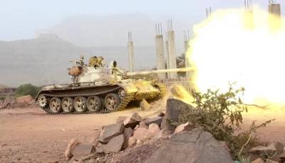 الضالع: مواجهات عنيفة بين الجيش الوطني ومليشيا الحوثي في جبهة العود