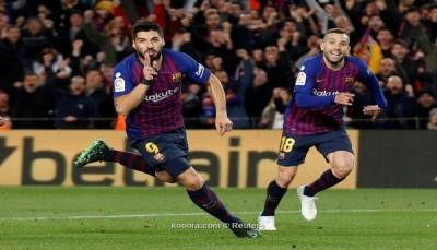 برشلونة يقتل أحلام أتلتيكو مدريد في الدوري الأسباني