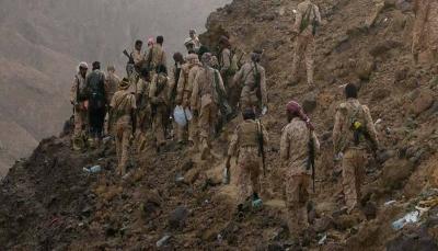 """الجيش الوطني يعلن تحرير عدد من المناطق في عدة محاور بجبهة """"نهم"""""""