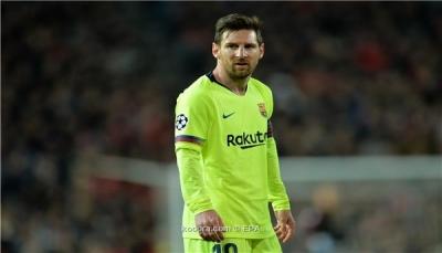 برشلونة يتدرب بدون ميسي