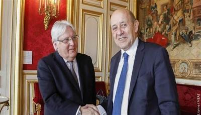 فرنسا تعد بتجنيد كل قدراتها لدعم جهود الأمم المتحدة باليمن