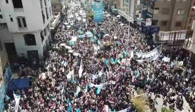 قياديان في حزب الإصلاح يشيدان بمسيرة حزب المؤتمر بتعز