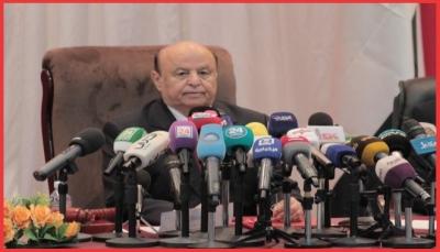 """الرئيس هادي يوجه بإطلاق سراح السجناء على ذمة قضايا عارضة بـ""""تعز"""""""