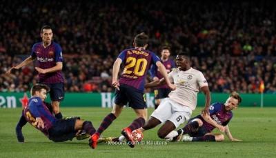 برشلونة يقسو على مانشستر يونايتد بثلاثية نظيفة