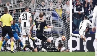 أياكس يفجر مفاجأة ويطيح بيوفنتوس من دوري أبطال أوروبا