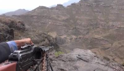نجاه قائد اللواء 30 مدرع من محاولة اغتيال والجيش يستعيد عدد من المواقع بالضالع