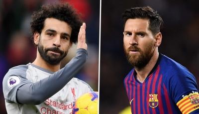 صلاح وميسي يزينان تشكيلة جولة الإياب لربع نهائي دوري الأبطال