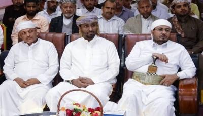 وزير الأوقاف يشهد حفل تكريم 100 حافظ وحافظة لكتاب الله بالمهرة
