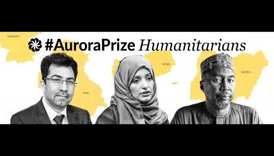 """لدورها في كشف السجون السرية..الناشطة اليمنية """"هدى الصراري"""" تفوز بجائزة الأورورا"""