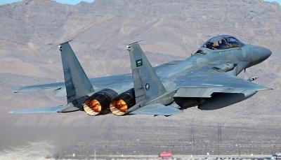 الضالع.. غارات لمقاتلات التحالف تستهدف آليات وتجمعات ميليشيات الحوثي بالعود