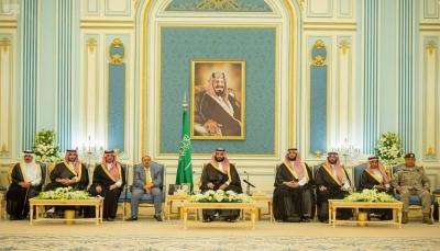 ولي العهد السعودي محمد بن سلمان يلتقي رئيس وأعضاء مجلس النواب