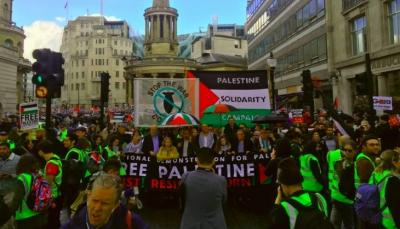 في ذكراها الـ 71.. مسيرة ضخمة في لندن إحياء لذكرى النكبة الفلسطينية