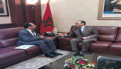 """""""البركاني"""" يتلقى دعوة رسمية مع هيئة رئاسة مجلس النواب لزيارة المغرب"""